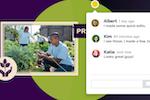 Capture d'écran pour Prezi : Commenting capabilities allow users to provide feedback