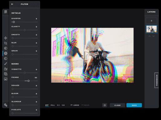 Pixlr filters