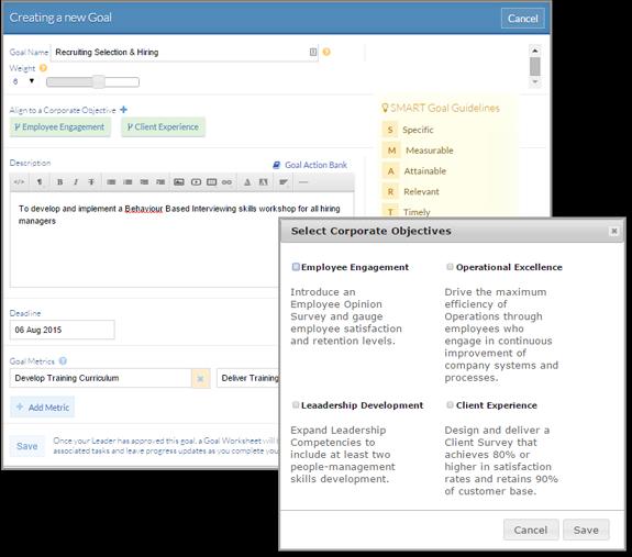 Sprigg Software - Goal Management