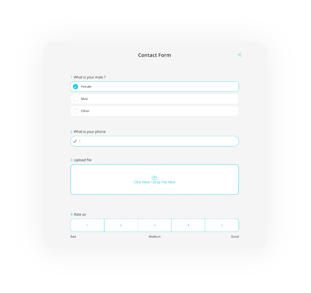 forms.app contact form