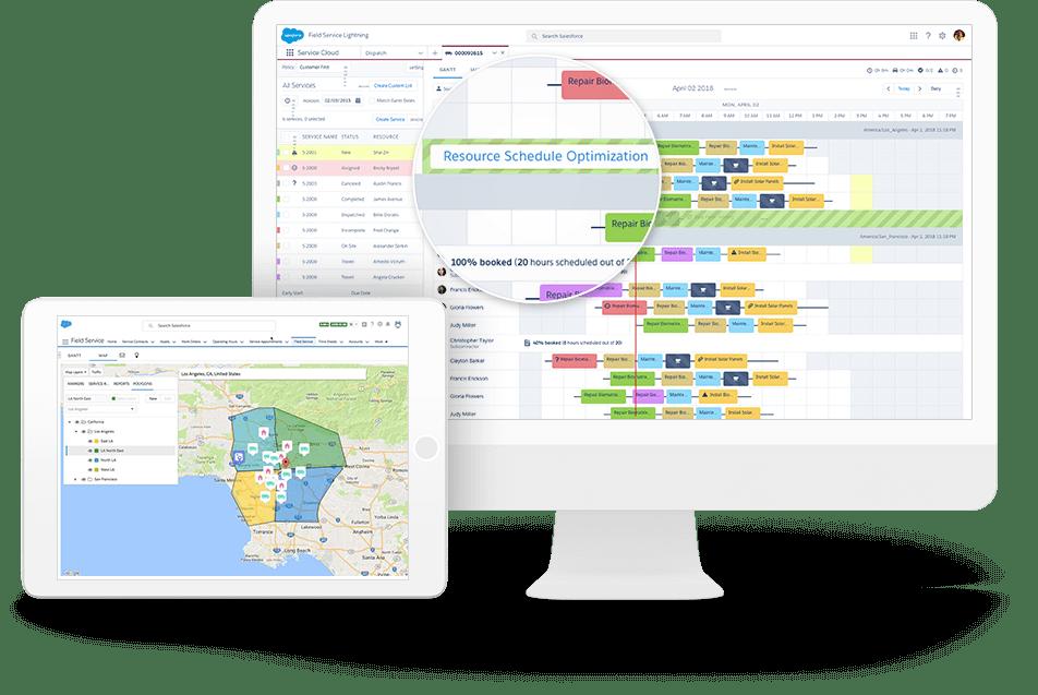 Salesforce Field Service Logiciel - 4
