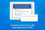 Sine screenshot: Customise your sign in forms