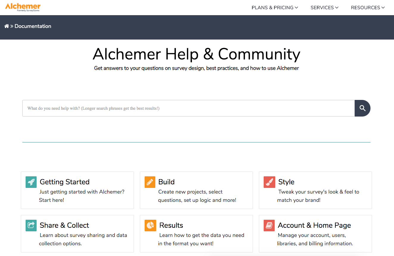Alchemer Software - Alchemer Help and Community - Get answers to your questions on survey design, best practices, and how to use Alchemer.
