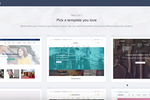 Zoho Commerce screenshot: Zoho Commerce templates