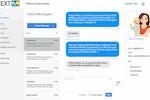TextP2P screenshot: Inbox