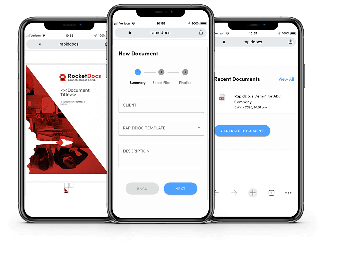 RocketDocs Mobile Sales Engine