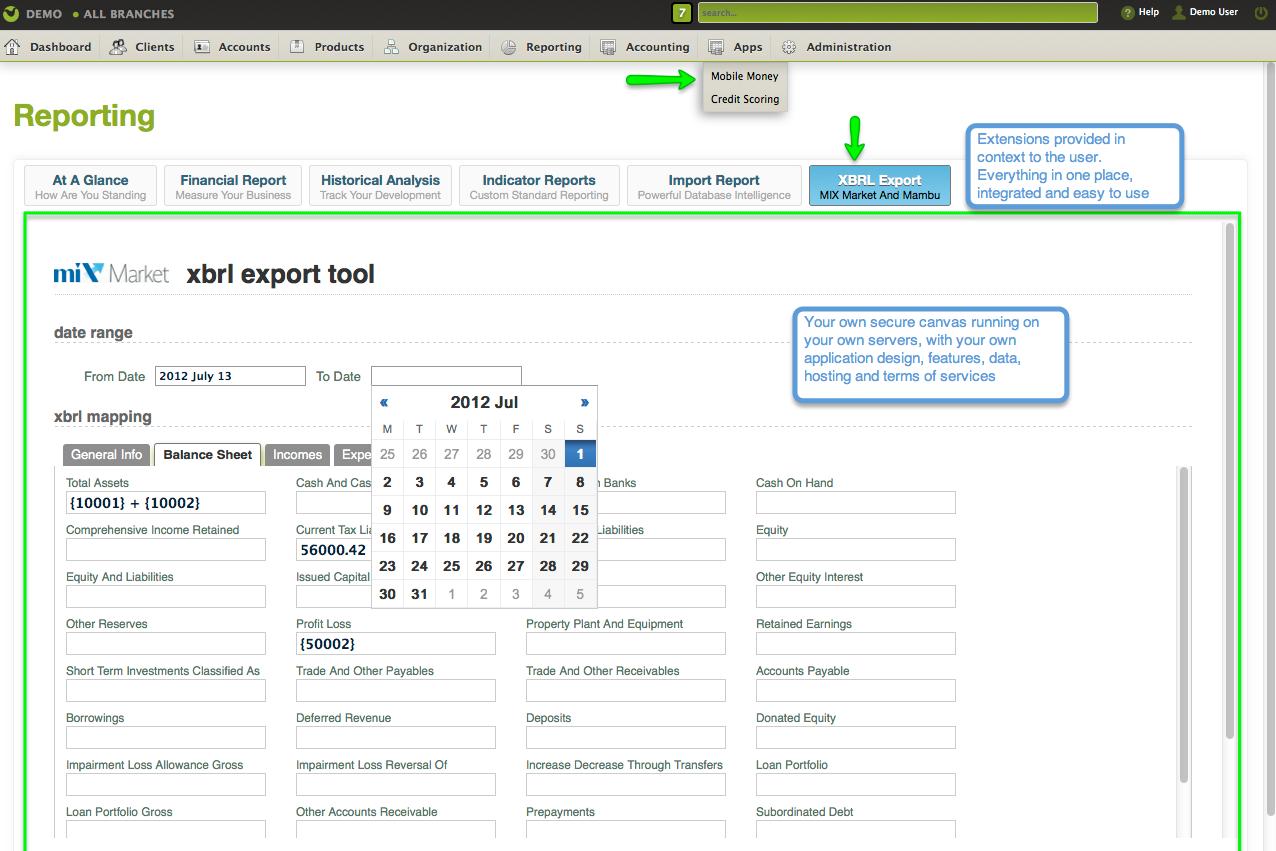 Mambu Software - Mambu reporting