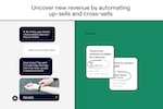 Ada screenshot: Uncover new revenue by automating up-sells and cross-sells