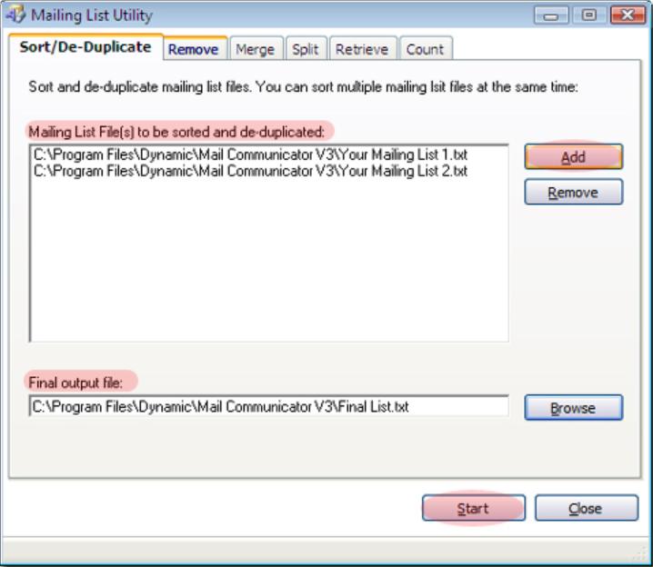 Mail Communicator Software - 3