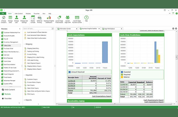 Sage 100cloud Software - 1