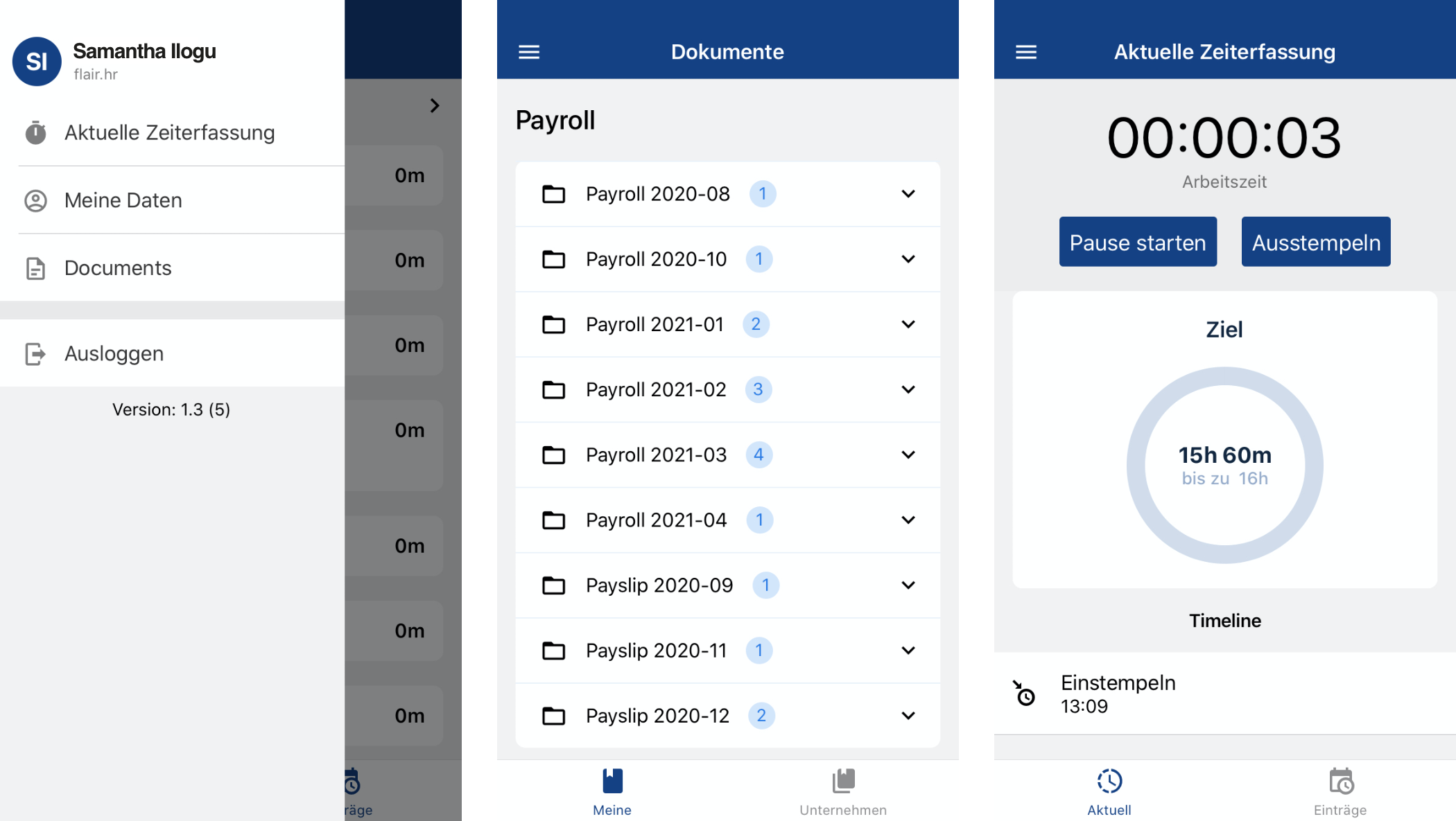 Amongst many other things flair's employee HUB enables users to plan their shifts & absences, track time, access documents and request data changes. Our manager dashboard is perfect for managers and team leaders. Access employee HUB from a mobile now!