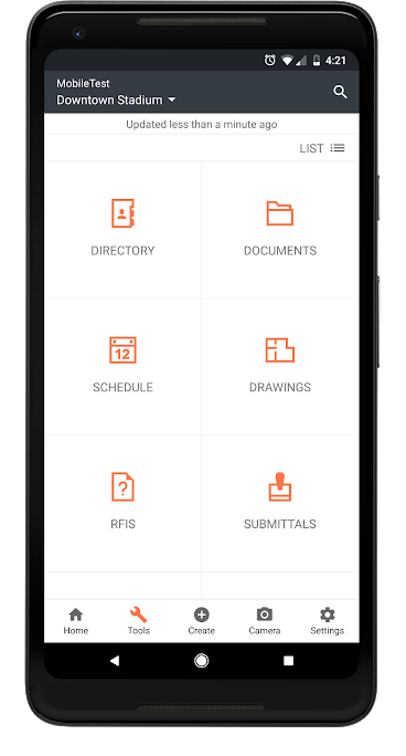 Access documents, directories, schedules, and more