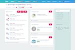 Capture d'écran pour Plezi : Plezi - Promote content on social networks, send email campaigns, and create campaigns with sponsored links or CTAs