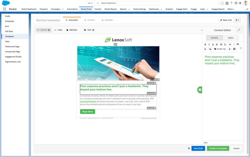 Pardot Software - 2