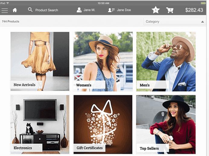 Salesforce B2C Commerce product catalog