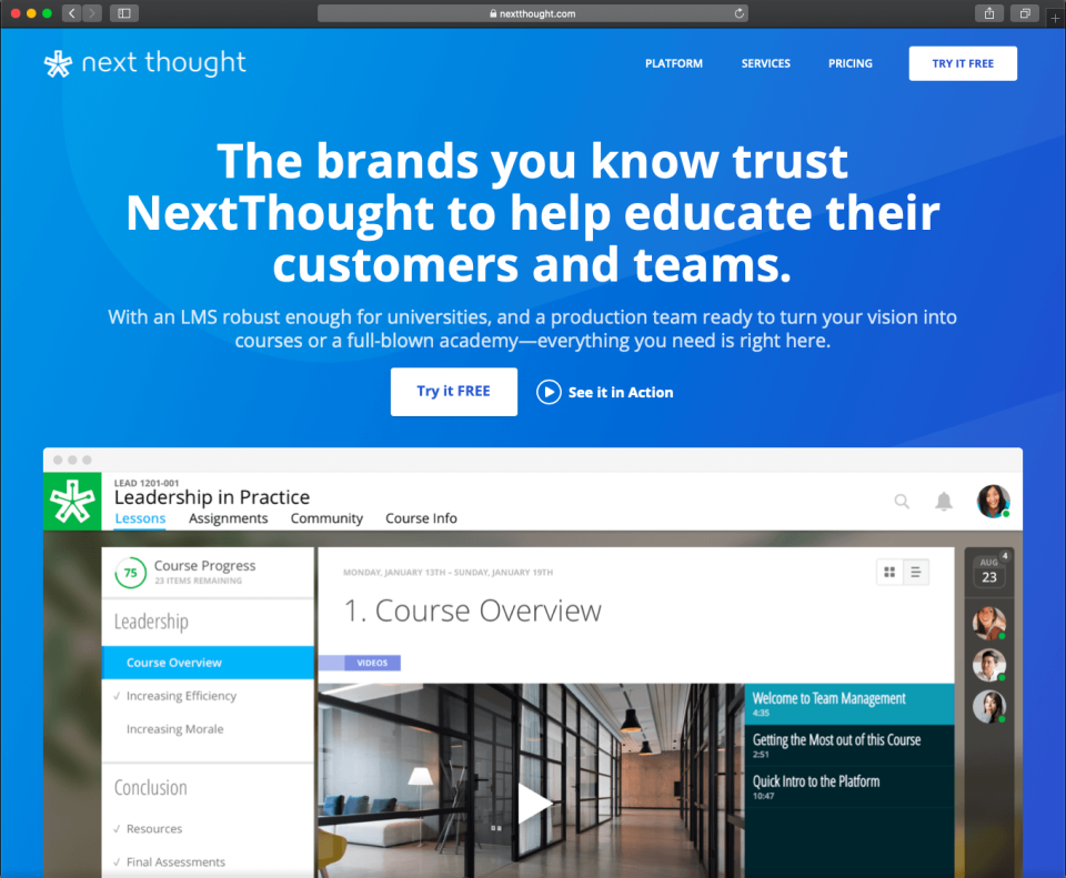NextThought Software - 1