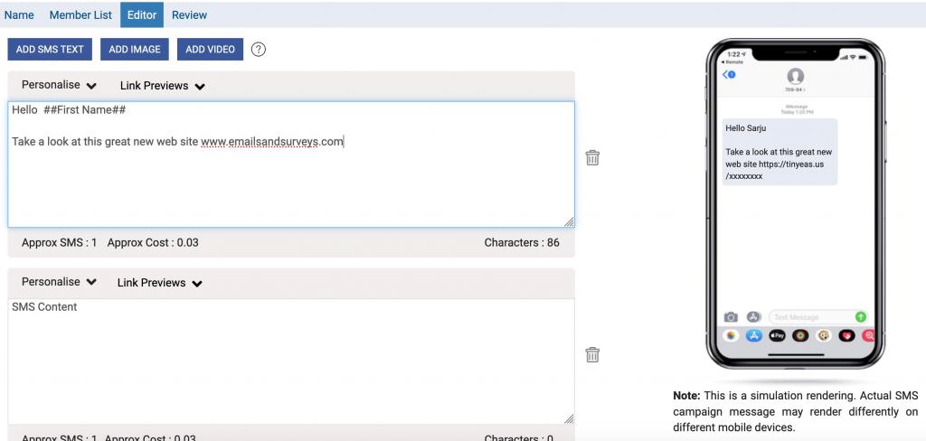 EmailsAndSurveys - SMS Marketing
