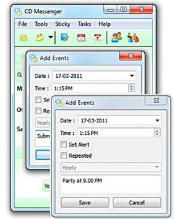 CDMessenger screenshot