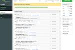 Captura de pantalla de VBO Tickets: VBO closed events back-end