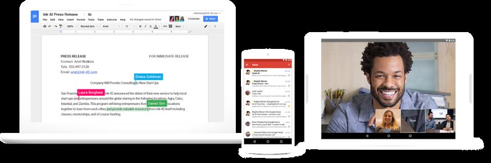 Google Slides Software - 1