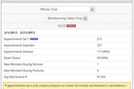 ClubReady screenshot: ClubReady sales process