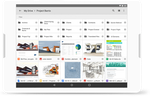Captura de pantalla de Google Workspace: Store and share files in the cloud then access, view and edit them from a computer, tablet or phone