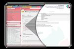 Schermopname van ezyVet: Comprehensive template system.