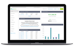 PaySimple screenshot: View your business at a glance with a dynamic dashboard