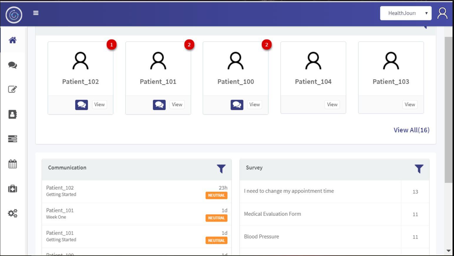 JourneyLabs patient records