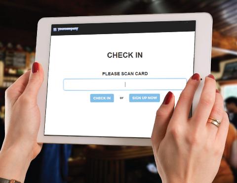 LoyaltyGator Software - Customer rewards check in app