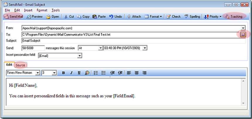 Mail Communicator Software - 2