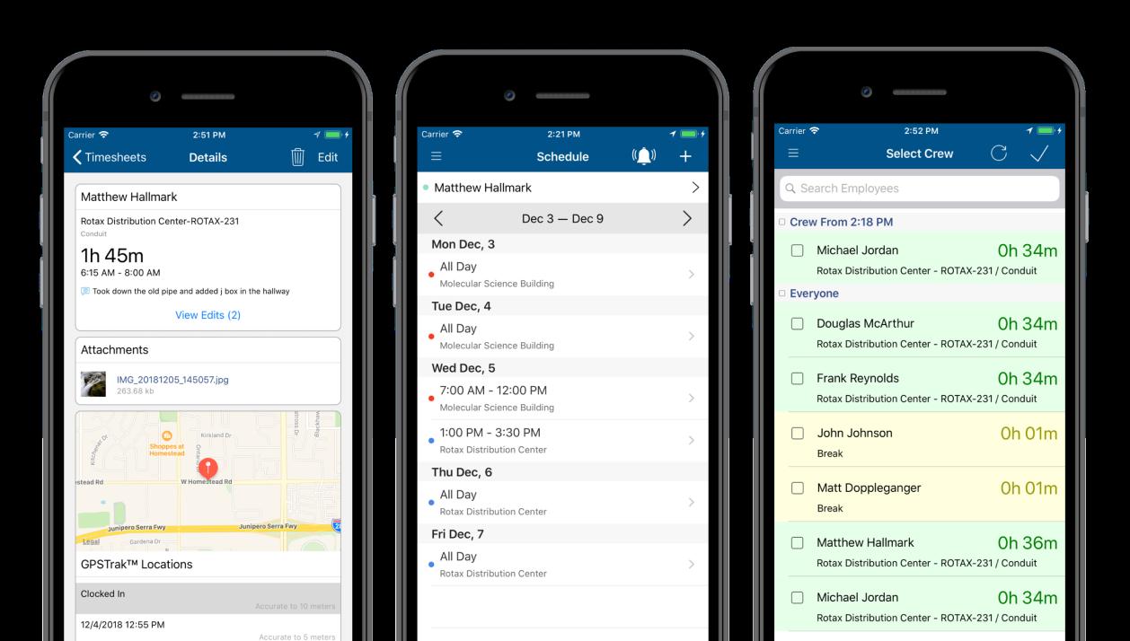 ClockShark Software - Mobile apps