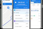 Hubstaff screenshot: Mobile app for tracking employees