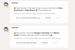 MailClark screenshot: MS Teams - Never forget any messages thanks to reminders