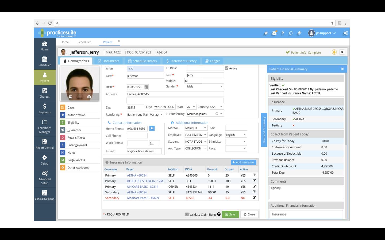 PracticeSuite Software - 1