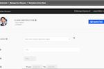 BrainCert screenshot: Dashboard to schedule live classes