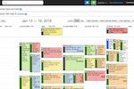SingleOps screenshot: The calendar tools allow users to schedule jobs