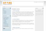 STARS screenshot: STARS admin portal
