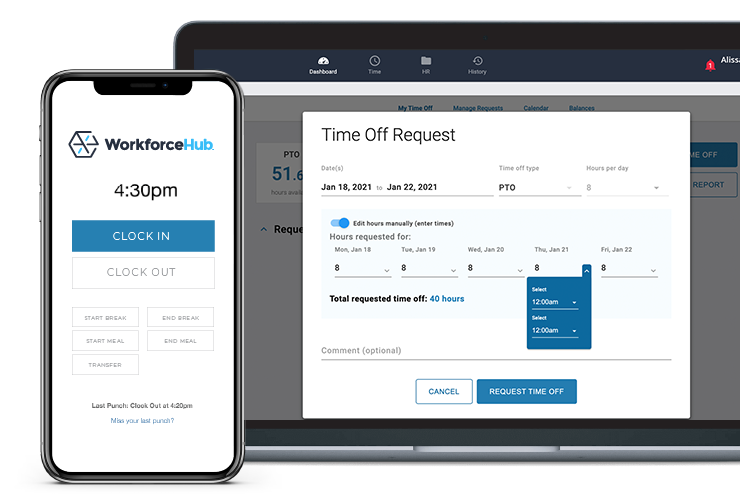 WorkforceHub Software - WorkforceHub Leave Management