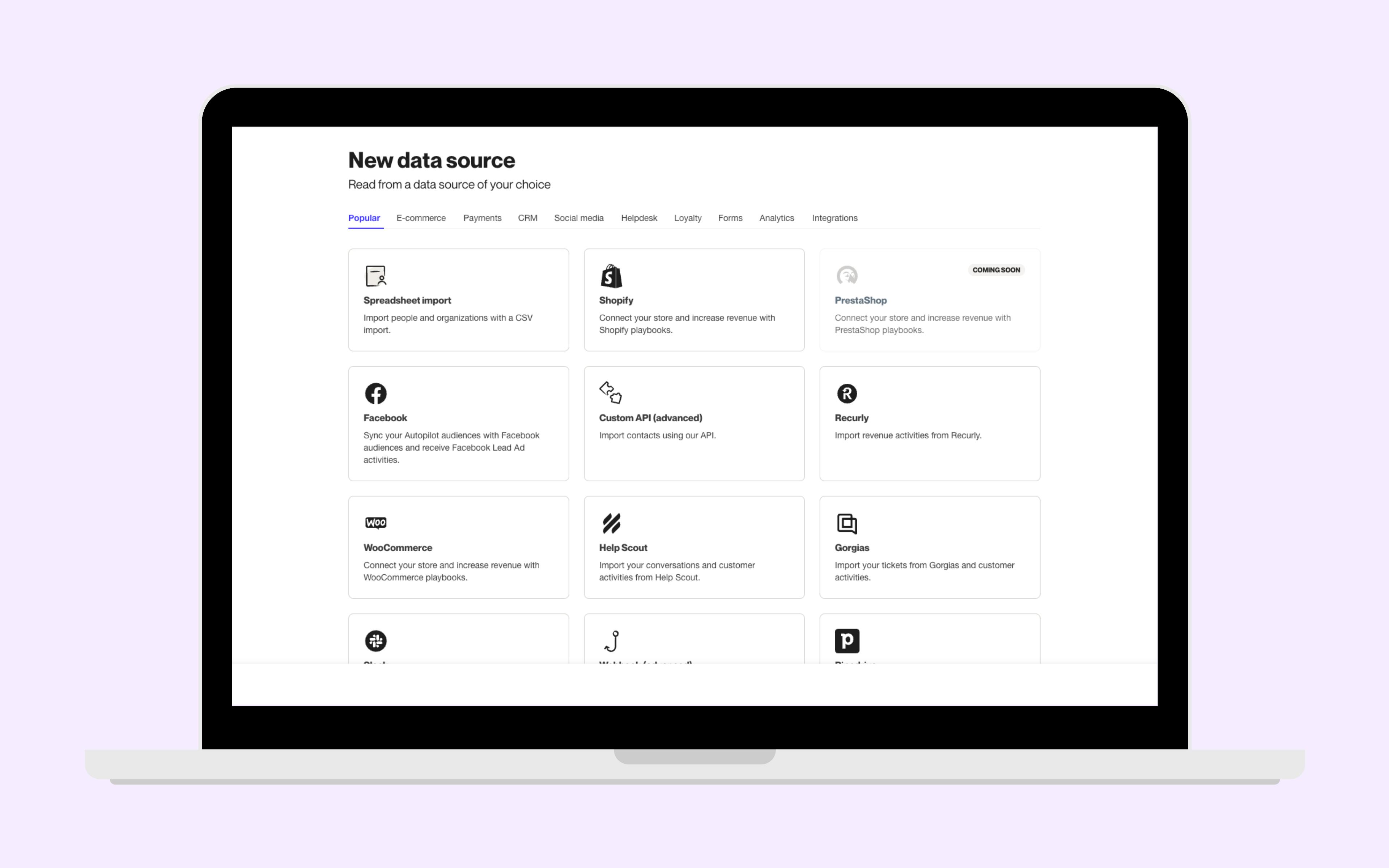Autopilot Software - Customer Data Platform - Create a single, 360 view of your customer
