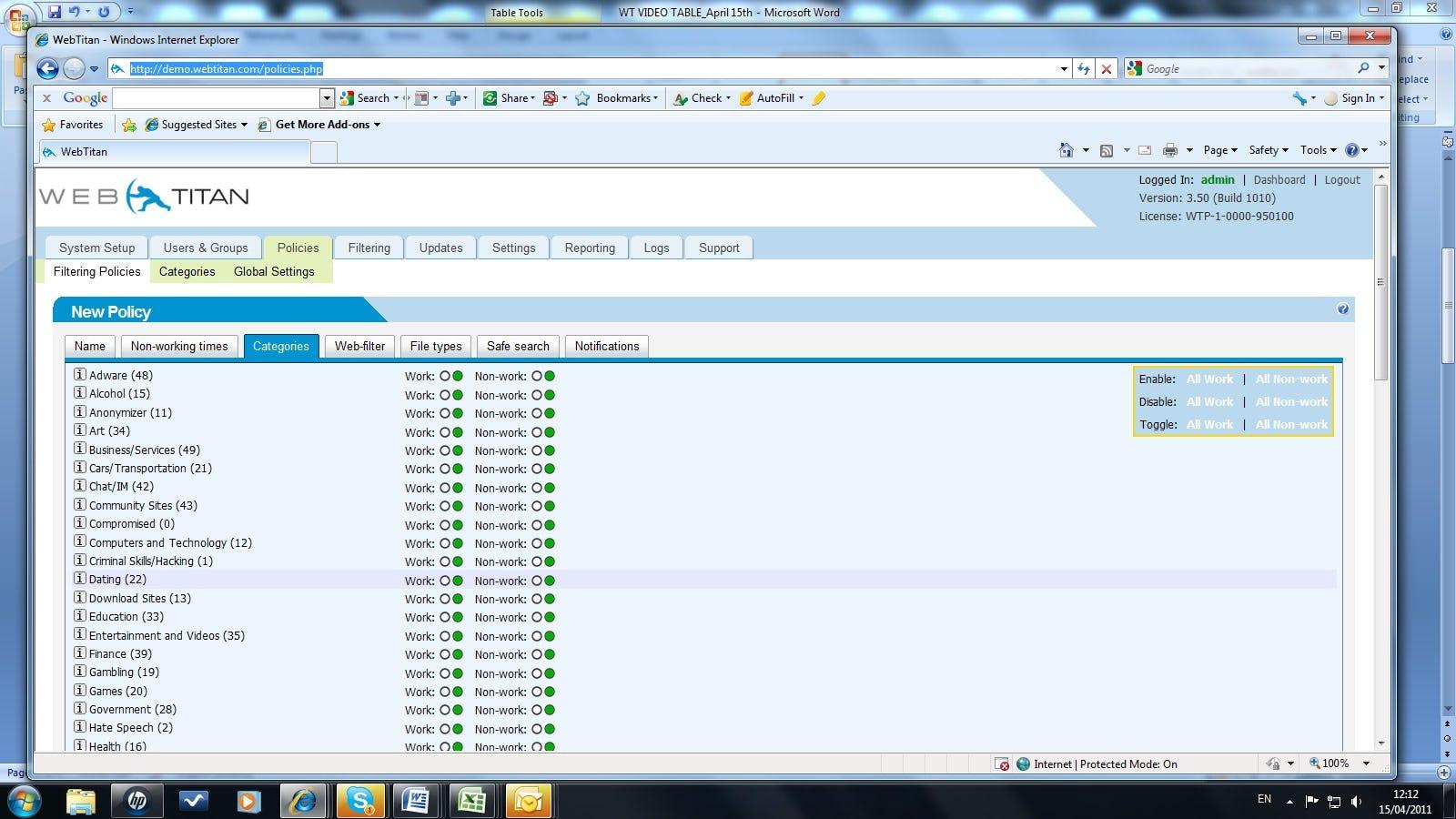 WebTitan Software - 1