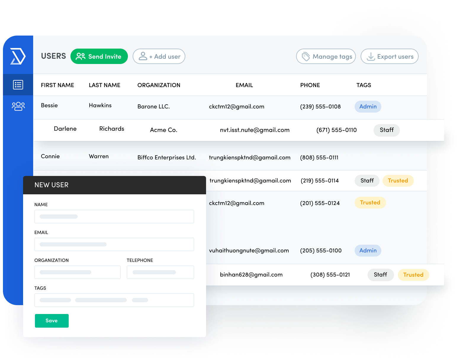 Easily make decisions regarding how users can book space at your organization with Skedda's user management capabilities.