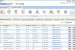 ParishSOFT screenshot: ParishSOFT accounting diocesan View