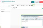 Synap screenshot: Create notes with rich text, formulae and equations.