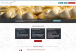 MemberLeap screenshot: The Pastry Chefs of America is our fictional association demonstration website where you can see an actual back-end of our software