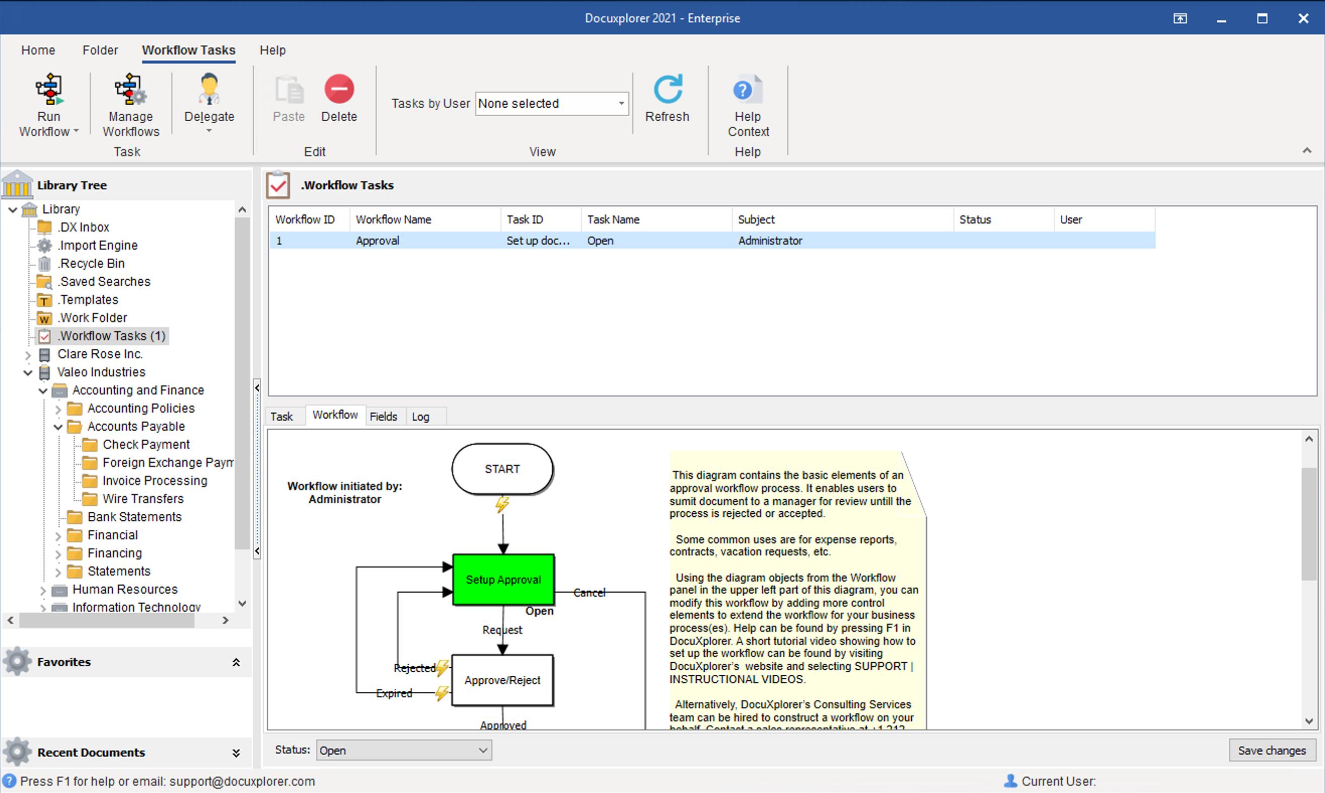 DocuXplorer Software - 4