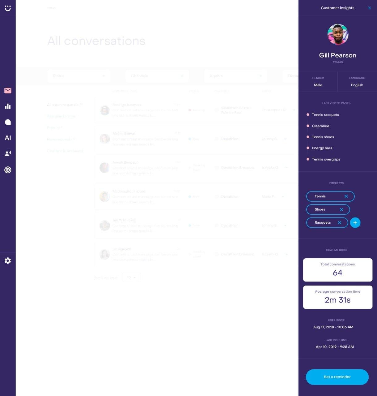 Heyday Software - Heyday Customer Insight