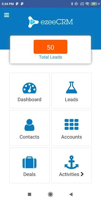 ezeeCRM mobile app
