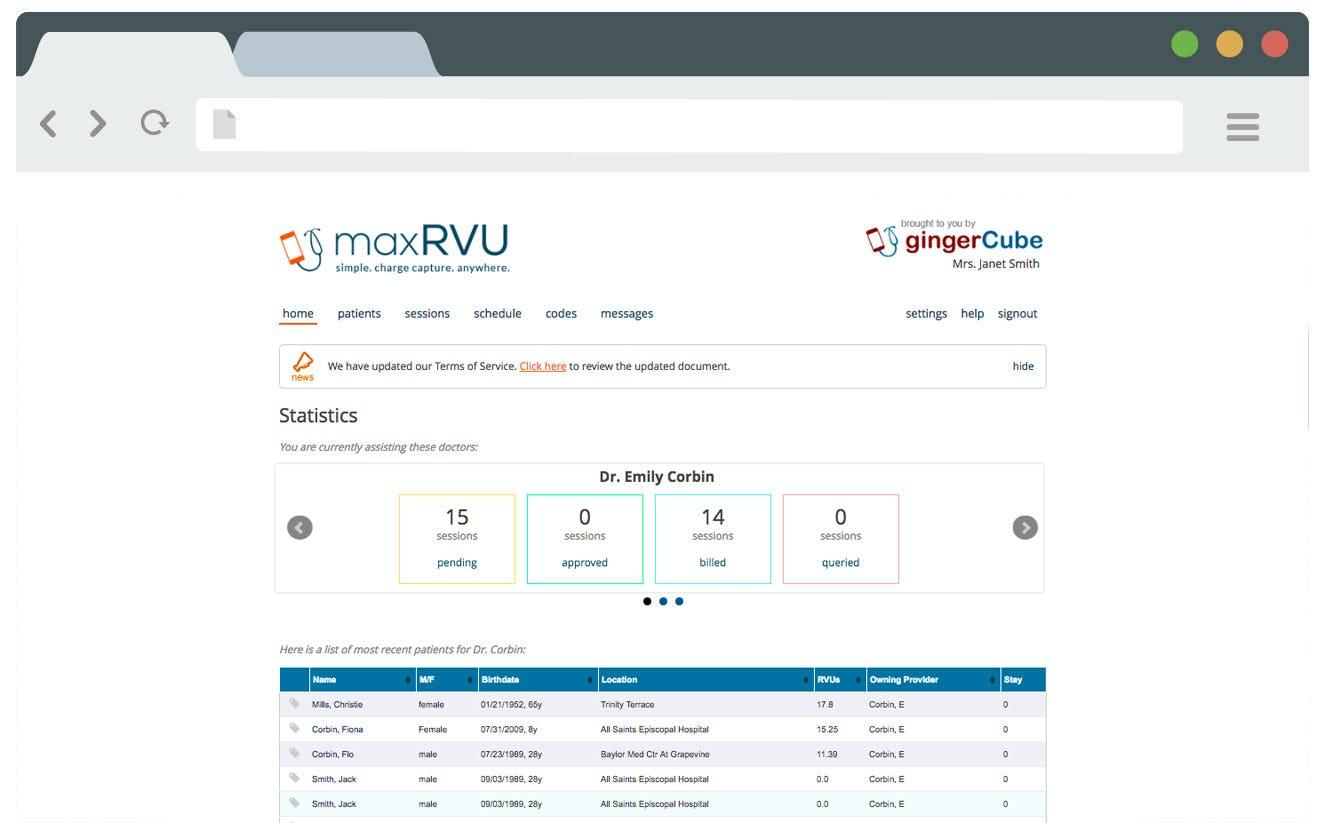 maxBill by Ginger Cube Software - Visitation statistics