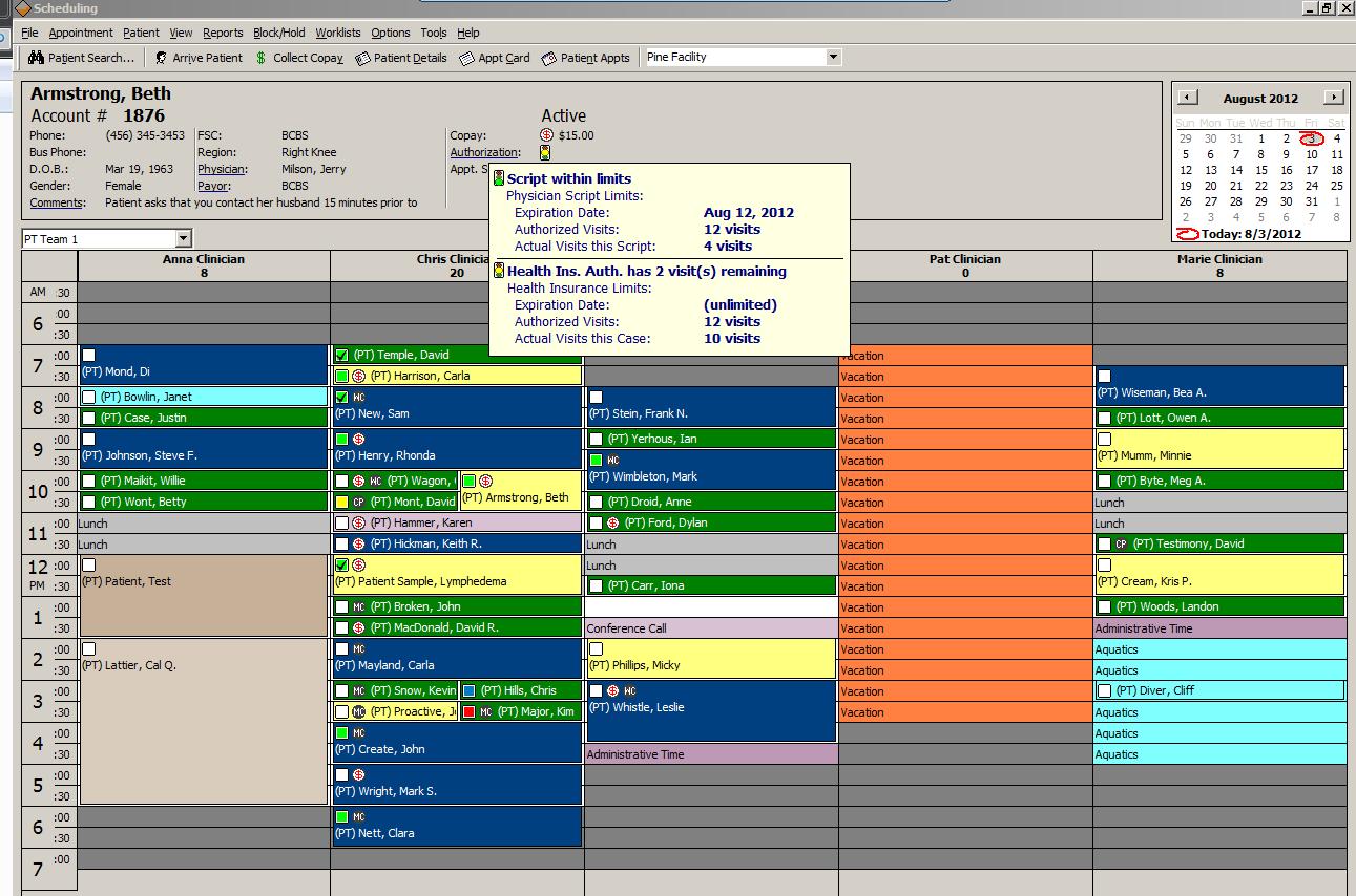Scheduling capture